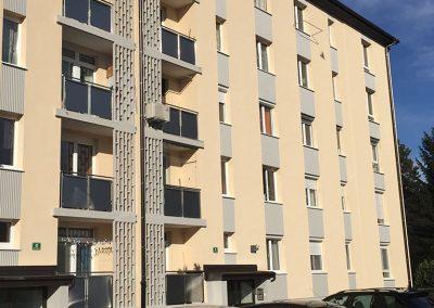 Grablovičeva ulica 38 in 40, 2016