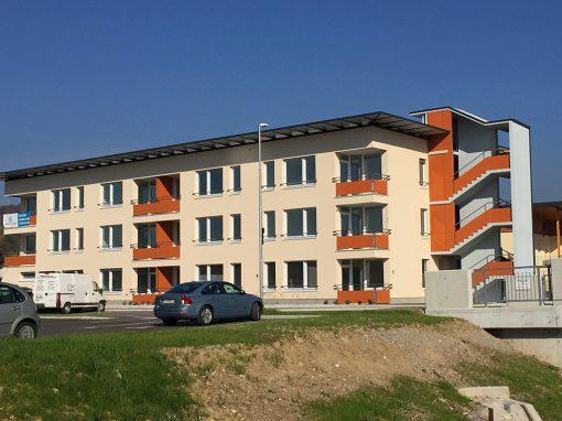 Oskrbovana stanovanja Škofljica, 2015