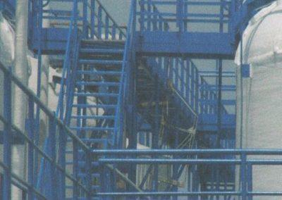 Jeklena konstrukcija in cisterne, 2005