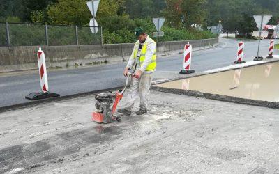 Izvajamo dela na slovenskem avtocestnem križu
