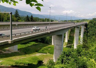 Viadukt Peračica, Brezje