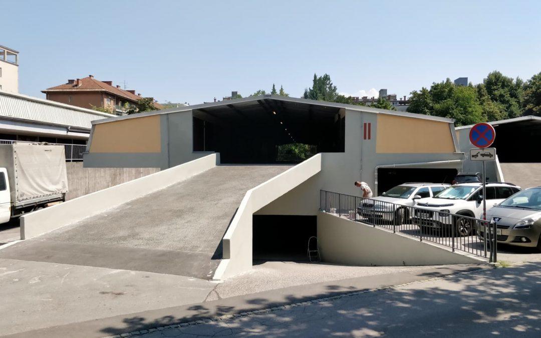 garaže Triplex Lj, 2018